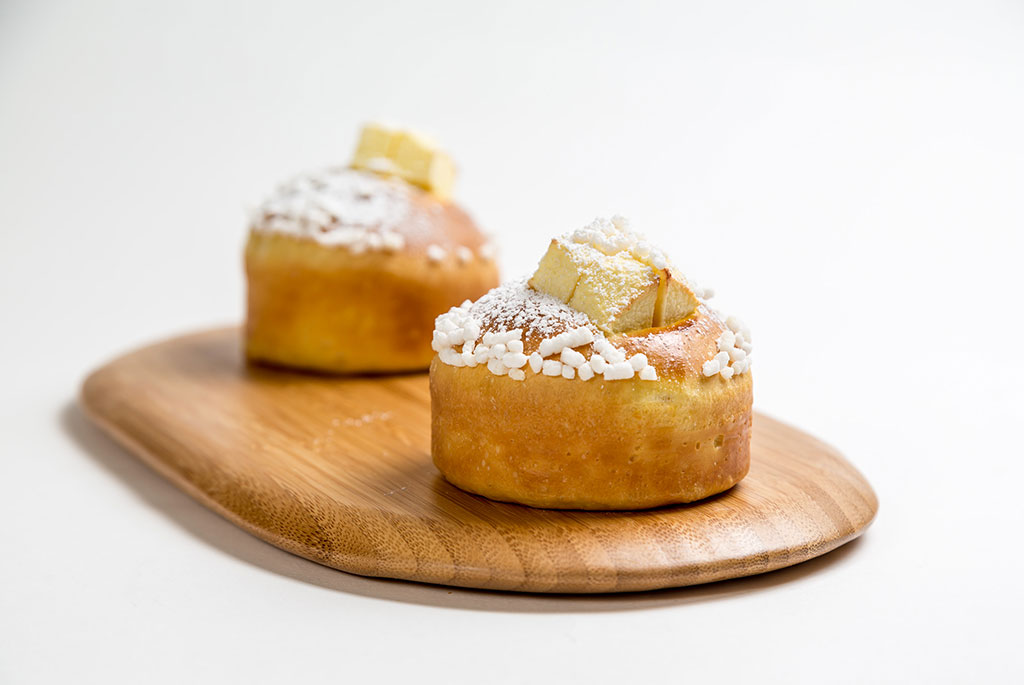 brioche crema e mela