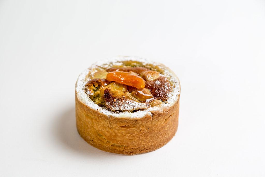 tarta albicocca e pistacchio